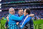 Alan Brogan Dublin players celebrate in the Kerry v Dublin All Ireland Senior Football Final in Croke Park on the 20th September 2015.