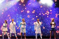 LONDON, ENGLAND - JULY 10: Lisa Scott-Lee, Ian &quot;H&quot; Watkins, Claire Richards, Lee Latchford-Evans and Faye Tozer of 'Steps' performing at Kew the Music, Kew Gardens on July 10, 2018 in London, England.<br /> CAP/MAR<br /> &copy;MAR/Capital Pictures