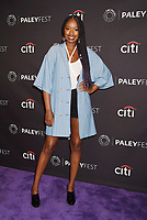 BEVERLY HILLS, CA - SEPTEMBER 08:  Actress Xosha Roquemore attends The Paley Center for Media's 11th Annual PaleyFest fall TV previews Los Angeles for Hulu's The Mindy Project at The Paley Center for Media on September 8, 2017 in Beverly Hills, California.<br /> CAP/ROT/TM<br /> &copy;TM/ROT/Capital Pictures