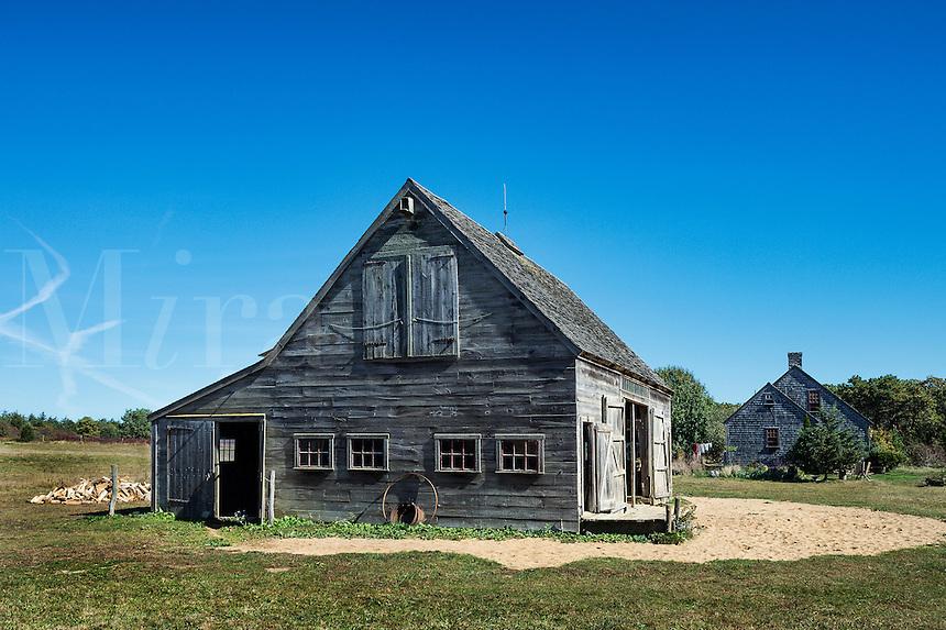 Rustic barn, West Tisbury, Martha's Vineyard, Massachusetts, USA