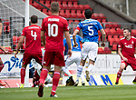St Johnstone v Aberdeen&hellip;15.09.18&hellip;   McDiarmid Park     SPFL<br />David McMillan (partially hidden) scores for St Johnstone<br />Picture by Graeme Hart. <br />Copyright Perthshire Picture Agency<br />Tel: 01738 623350  Mobile: 07990 594431