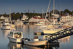 Sunrise in Boothbay Harbor, ME, USA