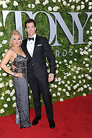 www.acepixs.com<br /> June 11, 2017  New York City<br /> <br /> Orfeh and Andy Karl attending the 71st Annual Tony Awards arrivals on June 11, 2017 in New York City.<br /> <br /> Credit: Kristin Callahan/ACE Pictures<br /> <br /> <br /> Tel: 646 769 0430<br /> Email: info@acepixs.com