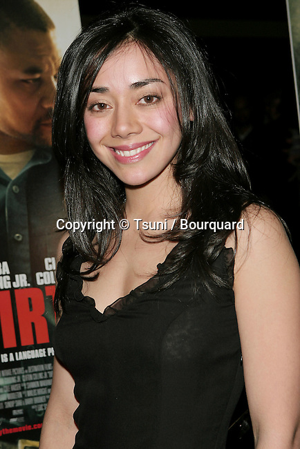 Aimee Garcia arriving at the Dirty Premiere at the Writer Guild In Los Angeles. February 22, 2006.