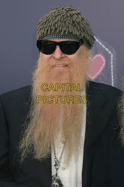 ZZ TOP - Billy Gibbons .John Varvatos Partners with Converse for the 7th Annual Stuart House Benefit held at the John Varvatos Boutique, West Hollywood, California, USA,  .08 March 2009..portrait headshot long beard facial hair hat sunglasses green .CAP/ADM/MJ.©Michael Jade/Admedia/Capital Pictures