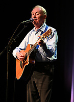 DELRAY BEACH - FEBRUARY 13: Al Stewart performs at the Crest Theatre at Old School Square on February 13, 2020 in Delray Beach, Florida. Credit: mpi04/MediaPunch