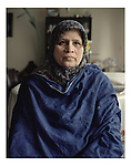 Portrait of Arifa Hashmi, mother of Fahd Hashmi, a Pakistani American and U.S. Citizen, arrested in London, England on June 6, 2006 based on an indictment from the United States charging him with conspiracy to provide material support to Al-Qaeda.