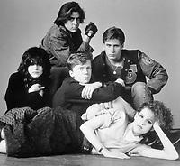 The Breakfast Club (1985) <br /> Molly Ringwald, Emilio Estevez, Judd Nelson, Ally Sheedy &amp; Anthony Michael Hall<br /> *Filmstill - Editorial Use Only*<br /> CAP/KFS<br /> Image supplied by Capital Pictures