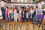 Richard Barrett, Clogherbrien (30 years service at CBS The Green), Tommy O'Donnell, Ballymacelligott (38 years service at CBS The Green) celebrate their retirement from CBS the Green at a party with Colleagues at the The Oyster Tavern on Saturday