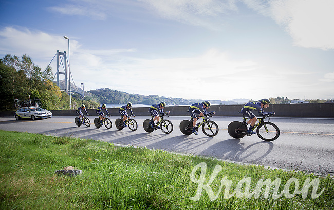 Team Orica-Scott<br /> <br /> Men's Team Time Trial<br /> <br /> UCI 2017 Road World Championships - Bergen/Norway