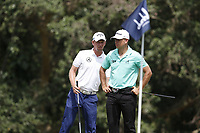 Marcel Siem (GER) and Steven Brown (ENG) during the 2nd round of the Alfred Dunhill Championship, Leopard Creek Golf Club, Malelane, South Africa. 14/12/2018<br /> Picture: Golffile | Tyrone Winfield<br /> <br /> <br /> All photo usage must carry mandatory copyright credit (&copy; Golffile | Tyrone Winfield)