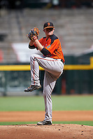 San Francisco Giants pitcher Logan Webb (73) during an instructional league game against the Arizona Diamondbacks on October 16, 2015 at the Chase Field in Phoenix, Arizona.  (Mike Janes/Four Seam Images)