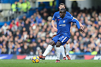 Ngolo Kante of Chelsea during the Premier League match between Chelsea and Newcastle United at Stamford Bridge, London, England on 2 December 2017. Photo by David Horn.