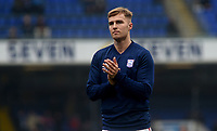 Ipswich Town's James Bree during the pre-match warm-up <br /> <br /> Photographer Hannah Fountain/CameraSport<br /> <br /> The EFL Sky Bet Championship - Ipswich Town v Stoke City - Saturday 16th February 2019 - Portman Road - Ipswich<br /> <br /> World Copyright © 2019 CameraSport. All rights reserved. 43 Linden Ave. Countesthorpe. Leicester. England. LE8 5PG - Tel: +44 (0) 116 277 4147 - admin@camerasport.com - www.camerasport.com