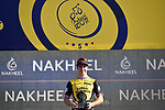 Dylan Groenewegen (Ned) Team Lotto NL-Jumbo wins Stage 1 The Nakheel Stage of the Dubai Tour 2018 the Dubai Tour&rsquo;s 5th edition, running 167km from Skydive Dubai to Palm Jumeirah, Dubai, United Arab Emirates. 6th February 2018.<br /> Picture: LaPresse/Fabio Ferrari | Cyclefile<br /> <br /> <br /> All photos usage must carry mandatory copyright credit (&copy; Cyclefile | LaPresse/Massimo Paolone)