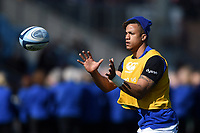 Anthony Watson of Bath Rugby in action during the pre-match warm-up. Gallagher Premiership match, between Exeter Chiefs and Bath Rugby on March 24, 2019 at Sandy Park in Exeter, England. Photo by: Patrick Khachfe / Onside Images