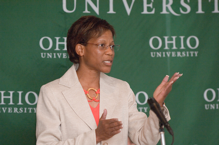 5/18/06..Contact: Director of Media Relations Jack Jeffery at 740-597-1793 or jefferyj@ohio.edu, or Media Relations Coordinator Jessica Stark at 740-597-2938 or starkj@ohio.edu..OHIO UNIVERSITY NAMES RENÉE A. MIDDLETON.DEAN OF COLLEGE OF EDUCATION..ATHENS, Ohio ? Renée A. Middleton, Ph.D., has been named dean of the College of Education at Ohio University, effective Aug. 14, 2006, President Roderick J. McDavis announced today. ..Middleton is currently director of research, human resource development and outreach at Auburn University (Ala.), a position she has held since 1994. Middleton is a tenured professor in the department of Counselor Education, Counseling Psychology and School Psychology in the College of Education at Auburn University. ..As dean, she will oversee the college's three departments: Counseling and Higher Education, Educational Studies, and Teacher Education. ..?Dr. Middleton is the ideal person to serve as dean of Ohio University's College of Education because of her proven abilities as a strong academic leader,? McDavis said. ?In her current role at Auburn University, she has ensured continued support for important initiatives, including research and diversity. I know that her professional and personal strengths will be an asset to the College of Education, which has created a strong foundation for the educators of tomorrow.?..As dean, Middleton will also be responsible for the college's several centers and partnerships, including the Upward Bound program, which prepares underprivileged high school students for college study, and the Appalachian Collaborative Center for Learning, Assessment and Instruction in Mathematics. She succeeds James Heap, who accepted a position at Brock University in Ontario, Canada...?We had a strong pool of candidates for this position, but Renée stood out as someone who has done a remarkable job of focusing on the goals of a college and establishing structures that enable people to arrive at those goals,? Provost Kath