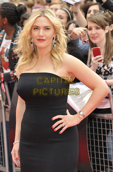 LONDON, ENGLAND - MARCH 30: Kate Winslet attends the &quot;Divergent&quot; UK film premiere, Odeon Leicester Square cinema, Leicester Square, on Sunday March 30, 2014 in London, England, UK.<br /> CAP/CAN<br /> &copy;Can Nguyen/Capital Pictures