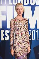 Andrea Riseborough<br /> arriving for the 2017 London Film Festival Awards at Banqueting House, London<br /> <br /> <br /> ©Ash Knotek  D3336  14/10/2017