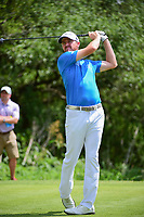 Jimmy Walker (USA) watches his tee shot on 9 during round 1 of the Valero Texas Open, AT&amp;T Oaks Course, TPC San Antonio, San Antonio, Texas, USA. 4/20/2017.<br /> Picture: Golffile | Ken Murray<br /> <br /> <br /> All photo usage must carry mandatory copyright credit (&copy; Golffile | Ken Murray)