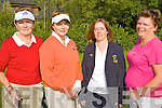 Captain's Day - Pictured enjoying a round on Lady Captain's Day at Ballyheigue Castle Golf Club on Saturday morning were Moira Whelan, Causeway, Kay McNamara, Caherslee, Lady Captain Anne Hill, Ballyheigue and Helen Crowley from Abbeydorney............................................................................................................................................................................................................................................. ............