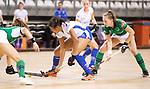 Almere - Zaalhockey Kampong-Push . Melissa Pieters (Kampong)  COPYRIGHT KOEN SUYK