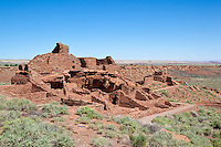Wupatki Pueblo, Sinaguan 13th C, Wupatki Nat Mon, Arizona