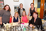 Mary O'Sullivan, Mounthawk Tralee Celebrates her Birthday with friends at Bella Bia on Friday Pictured Marie O'Sullivan, Margaret O'Brien, Mary O'Sullivan, Fiona O'Connor, Claire O'Connor, Jane Deasy