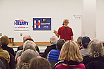 Hillary Clinton supporters, Pre-Caucus meeting, Bill Taylor, Port Townsend, Washington State, 02-17-2016, Jefferson County WA Democrats for Hillary, Washington State for Change,