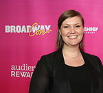 Corrine Bake attends the BroadwayHD panel discussion at Broadwaycom 2018 on January 26, 2018 at Jacob Javitz Center in New York City.