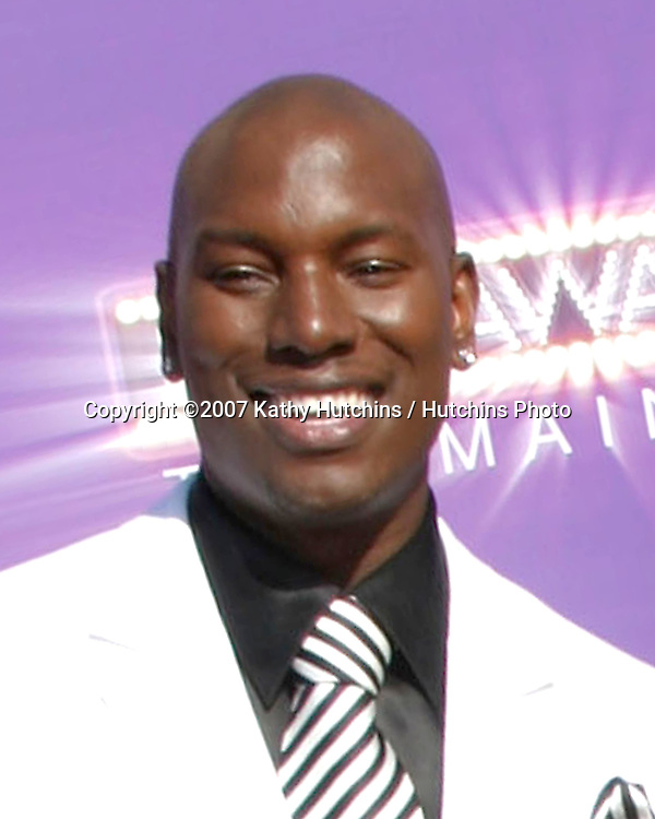 Tyrese Gibson.2007 BET Awards.Shrine Auditorium.Los Angeles, CA.June 26, 2007.©2007 Kathy Hutchins / Hutchins Photo....