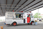 Food Shark, a Texas food truck in Marfa, TX, USA
