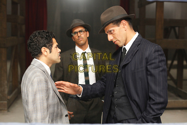 Jamel Debbouze, Sami Bouajila & Roschdy Zem .in Outside The Law.*Filmstill - Editorial Use Only*.CAP/PLF.Supplied by Capital Pictures.