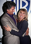 Patrick Duffy and Suzanne Somers at the 1994 NATPE Convention in Miami, Florida in January of 1994.