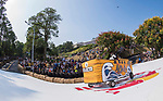 Team 諾亞翻舟  in action during the Red Bull Soapbox Race 2017 Taipei at Multipurpose Gymnasium National Taiwan Sport University on 01 October 2017, in Taipei, Taiwan. Photo by Victor Fraile / Power Sport Images