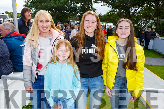 Ethna, Abby, Sarah and Emma Cantillion from at the Ballyheigue Pattern Day Mass on Sunday.