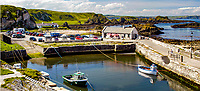 Harbour,Ballintoy, Co Antrim, N Ireland, UK. Ref: 200407315203.<br />