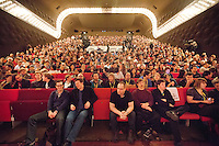 The Netherlands, Rotterdam, 28 January 2012. The International Film Festival Rotterdam 2012. Audience in Luxor Theater. Photo: 31pictures.nl / (c) 2012, www.31pictures.nl Copyright and ownership by photographer. FOR IFFR USE ONLY. Not to be (re-)distributed in any form. Copyright and ownership by photographer. FOR IFFR USE ONLY. Not to be (re-)distributed in any form.