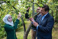 2016/08/17 Berlin | Senator Geisel besucht Naturhof-Malchow