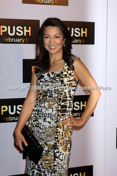"""Ming-Na Wen arriving at the premiere of """"Push"""" at the Mann Village Theater in Westood, CA on .January 29, 2009.©2008 Kathy Hutchins / Hutchins Photo.."""