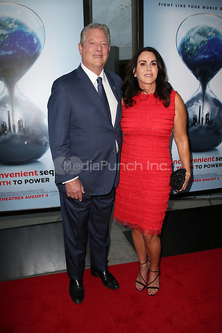 """HOLLYWOOD, CA - JULY 25: Al Gore, Guest, At Screening Of Paramount Pictures' """"An Inconvenient Sequel: Truth To Power"""" At ArcLight Hollywood In California on July 25, 2017. Credit: FS/MediaPunch"""