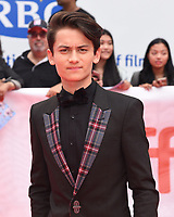 """TORONTO, ONTARIO - SEPTEMBER 07: Tenzing Norgay Trainor attends the """"Abominable"""" premiere during the 2019 Toronto International Film Festival at Roy Thomson Hall on September 07, 2019 in Toronto, Canada.   <br /> CAP/MPI/IS<br /> ©IS/MPI/Capital Pictures"""