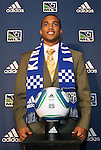 14 January 2010: Teal Bunbury was selected with the #4 overall pick by the Kansas City Wizards. The 2010 MLS SuperDraft was held in the Ballroom at Pennsylvania Convention Center in Philadelphia, PA during the NSCAA Annual Convention.