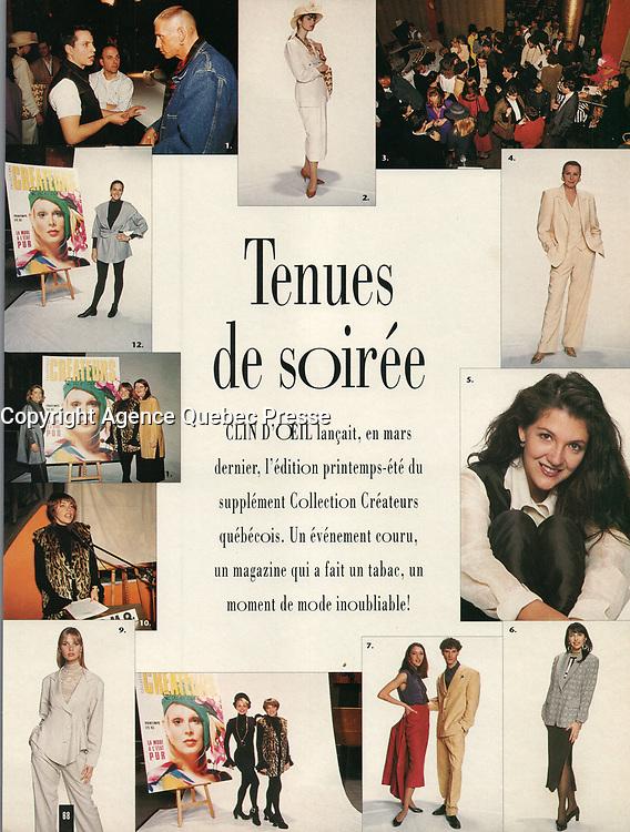 Publication dans CLIN D'OEIL<br /> <br /> Photo : Pierre Roussel et Stephane Fournier (IMAGE-ACTUELLE)