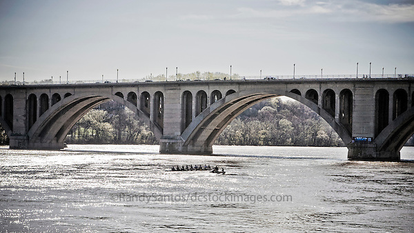 Key Bridge Georgetown Washington DC
