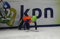SCHAATSEN: DORDRECHT: Sportboulevard, Korean Air ISU World Cup Finale, 11-02-2012, Yara van Kerkhof NED (147), val, ©foto: Martin de Jong