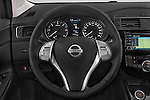 Car pictures of steering wheel view of a 2015 Nissan Pulser Acenta 5 Door Hatchback 2WD Steering Wheel