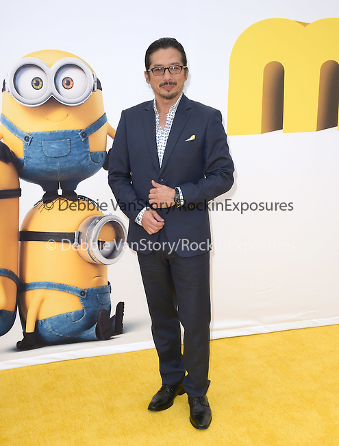 Hiroyuki Sanada attends Universal Pictures L.A. Premiere of Minions held at The Shrine Auditorium  in Los Angeles, California on June 27,2015                                                                               © 2015 Hollywood Press Agency