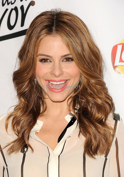 """May 6, 2013   Beverly Hills, Ca..Maria Menounos.Eva Longoria and the Lay's Brand Announce the Winning Flavor in Lay's """" Do Us a Flavor"""" contest at Beso Restaurant in Hollywood CA..© Fitzroy Barrett / AFF-USA.COM"""