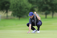 Ross Kellett (SCO) on the 3rd green during Sunday's Final Round of the Northern Ireland Open 2018 presented by Modest Golf held at Galgorm Castle Golf Club, Ballymena, Northern Ireland. 19th August 2018.<br /> Picture: Eoin Clarke | Golffile<br /> <br /> <br /> All photos usage must carry mandatory copyright credit (&copy; Golffile | Eoin Clarke)